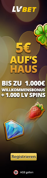 160x600px - A3 Casino No Deposit Bonus - German - DE