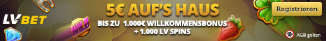 Casino No Deposit Bonus - German - DE LVbet